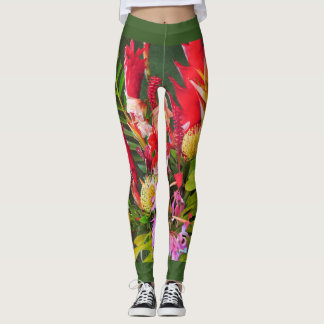 Tropical Bouquet Leggings
