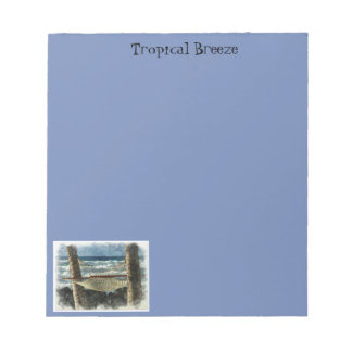 Tropical Breeze Notepad