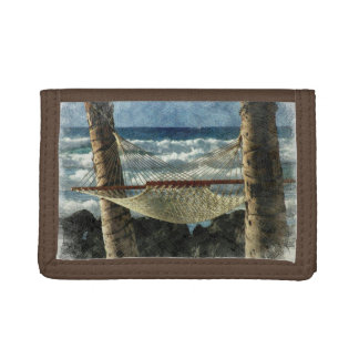 Tropical Breeze Trifold Wallets