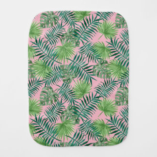 Tropical burp cloth