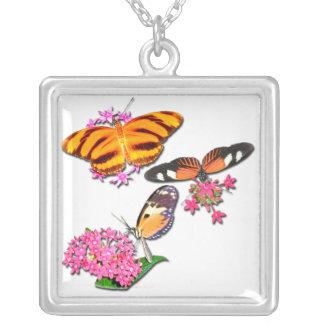 Tropical Butterflies Pendant