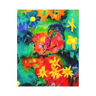 Tropical. Canvas Print