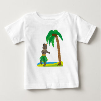 Tropical cat baby T-Shirt