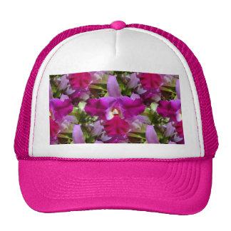 Tropical Cattleya Orchid Flower Hats