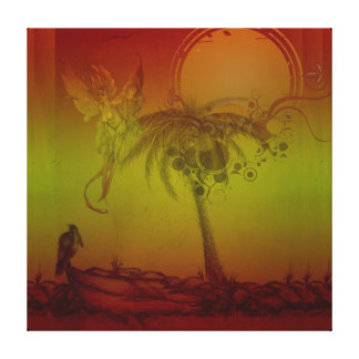 Tropical Celestial Spirit Canvas Print
