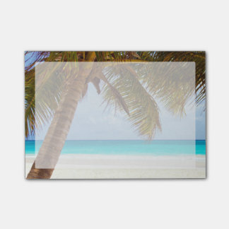 Tropical Chilling Beach Scene Post-it® Notes