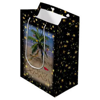 Tropical Christmas Medium Gift Bag
