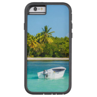 Tropical Coast Fishing Boat in Turquoise Water Tough Xtreme iPhone 6 Case