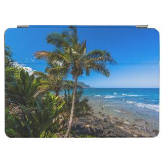 Tropical coastline iPad air cover