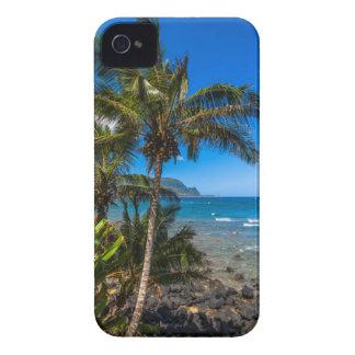 Tropical coastline iPhone 4 cover