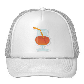tropical Cocktail Mesh Hat