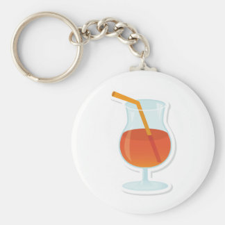 tropical Cocktail Key Chains