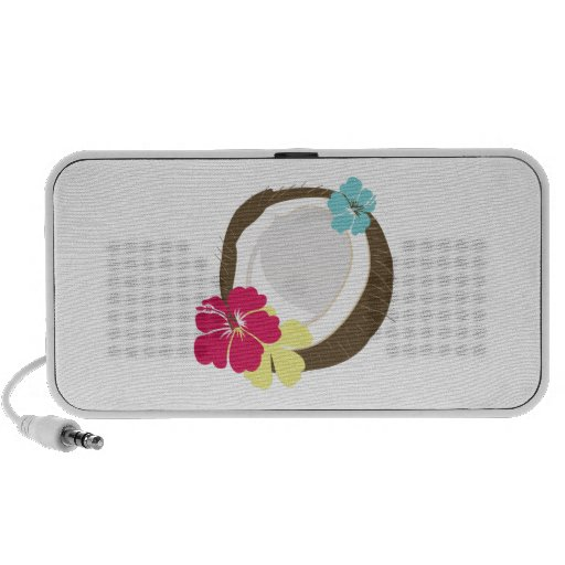 Tropical Coconut iPhone Speakers