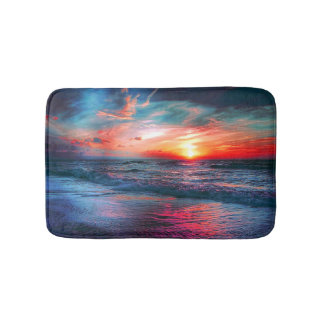 Tropical Colors Bath Mat