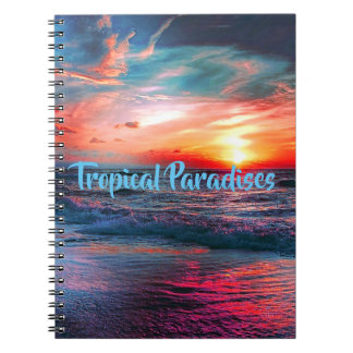 Tropical Colors Notebook