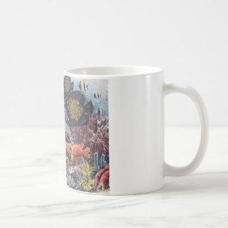 Tropical Coral Fish Dance Coffee Mugs