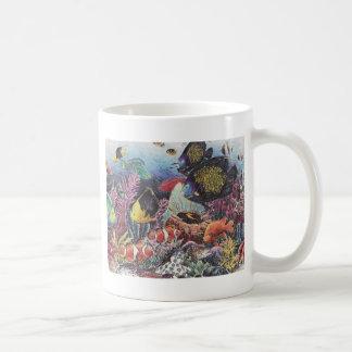 Tropical Coral Fish Dance Mug