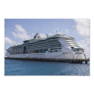 Tropical Cruise Ship Photo Art