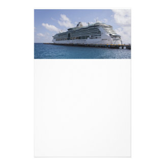 Tropical Cruise Ship Stationery