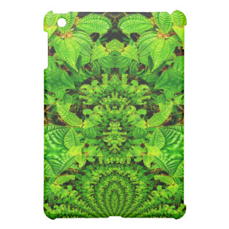 Tropical Curiosity Abstract Design iPad Mini Covers