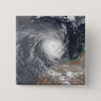 Tropical Cyclone Billy off Australia 15 Cm Square Badge