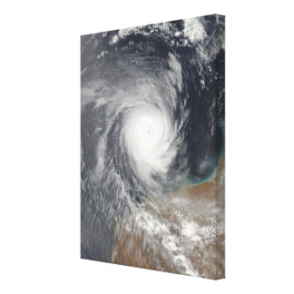 Tropical Cyclone Billy off Australia Canvas Print