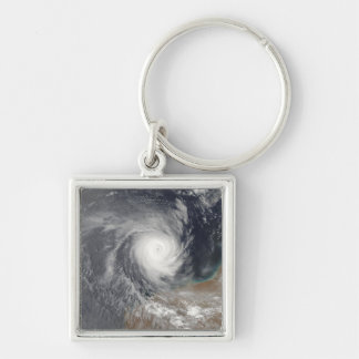 Tropical Cyclone Billy off Australia Key Ring