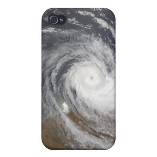Tropical Cyclone Billy over Australia 2 iPhone 4/4S Case