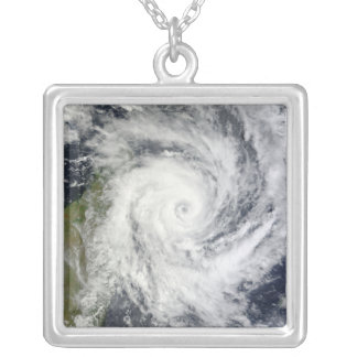 Tropical Cyclone Bingiza Silver Plated Necklace