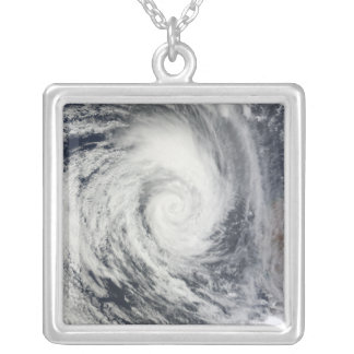 Tropical Cyclone Dianne 2 Silver Plated Necklace