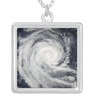 Tropical Cyclone Dianne Silver Plated Necklace