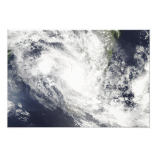 Tropical Cyclone Fami hovers over Madagascar Photo Print