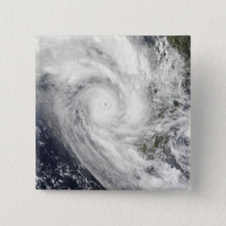 Tropical Cyclone Fanele over Madagascar 15 Cm Square Badge