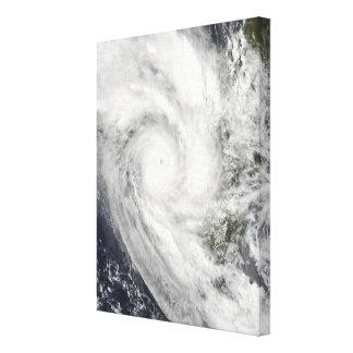Tropical Cyclone Fanele over Madagascar Canvas Print