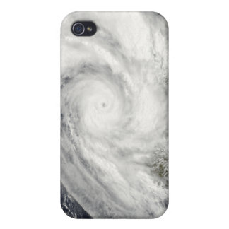 Tropical Cyclone Fanele over Madagascar Cases For iPhone 4