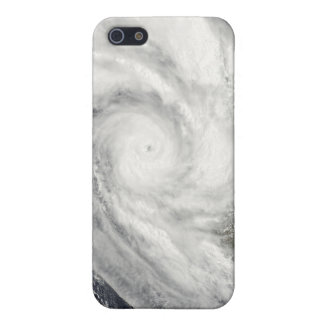 Tropical Cyclone Fanele over Madagascar iPhone 5 Cases