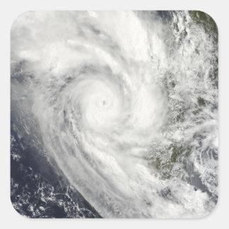 Tropical Cyclone Fanele over Madagascar Square Sticker