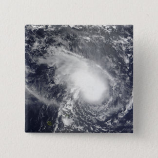 Tropical Cyclone Gael approaching Madagascar 15 Cm Square Badge