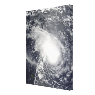 Tropical Cyclone Gael approaching Madagascar Canvas Print