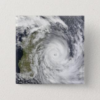 Tropical Cyclone Gael off Madagascar 2 15 Cm Square Badge