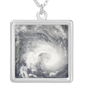 Tropical Cyclone Gael Silver Plated Necklace
