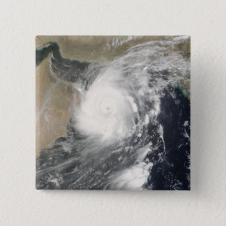 Tropical Cyclone Gonu in the Arabian Sea 15 Cm Square Badge