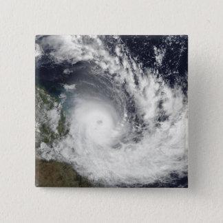 Tropical Cyclone Hamish over Australia 15 Cm Square Badge