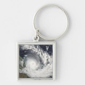 Tropical Cyclone Hamish over Australia Key Ring