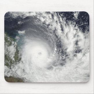 Tropical Cyclone Hamish over Australia Mouse Mat