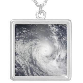 Tropical Cyclone Ilsa Silver Plated Necklace