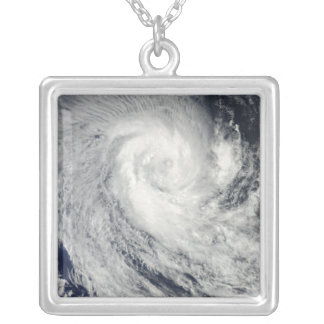 Tropical Cyclone Imani Silver Plated Necklace