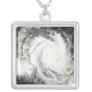 Tropical Cyclone Jokwe Silver Plated Necklace