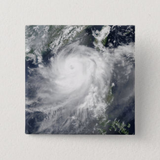 Tropical Cyclone Linfa 15 Cm Square Badge