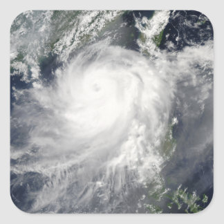 Tropical Cyclone Linfa Square Sticker